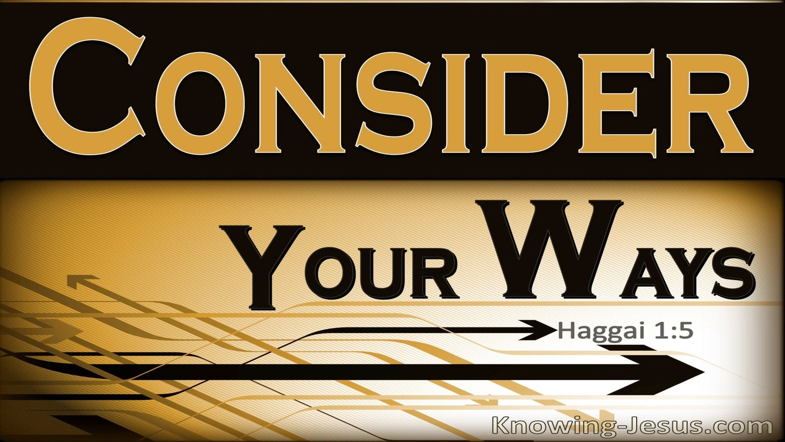 Haggai 1:5 Consider Your Ways (orange)
